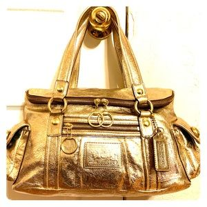 "COACH POPPY COLLECTION ""STARLET"" HANDBAG"
